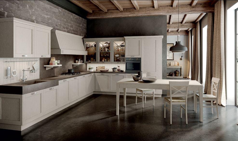 Cucina Classica E Moderna Insieme.Cucine Classiche Federici Mobili